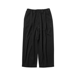 TIGHTBOOTH BAGGY LINEN PANTS  BLACK  L タイトブース パンツ