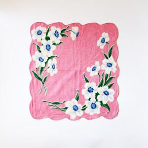 Vintage Printed Handkerchief 008・ヴィンテージ プリントハンカチ 008 U.S.A
