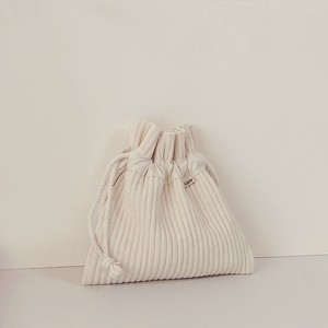 [LUFF]  cotton pouch Large