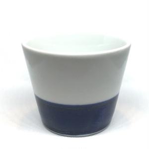 【砥部焼/梅山窯】蕎麦猪口(下呉須巻)