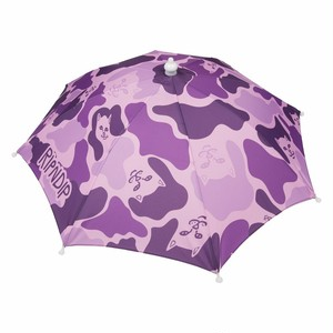 RIPNDIP - Camo Umbrella Hat (Purple)