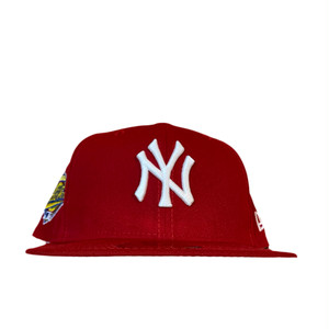 NEW ERA New York Yankees 1996 World Series 59Fifty Fitted / Red×White (Pink Brim)