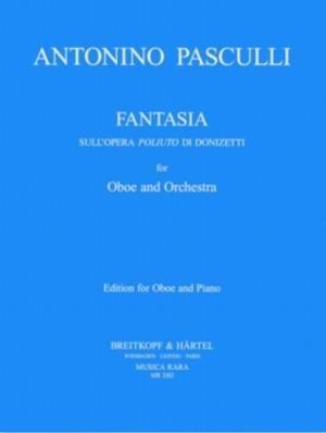 パスクッリ:ドニゼッティのオペラ「ポリウート」による幻想曲 / オーボエ・ピアノ