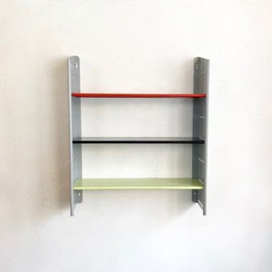 """NVF"" Vintage Metal Wall Shelf 1960's オランダ"