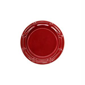 Koyo ラフィネ リムプレート 皿 約16cm ヴィンテージレッド 15944108
