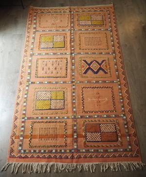 【高品質直輸入品】モロッコラグ/絨毯(グラウィ) 262×150