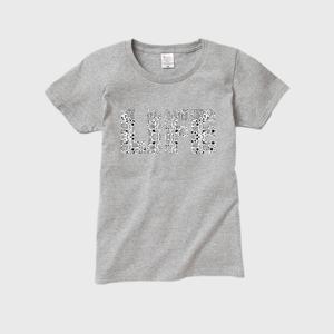 【レディースTシャツ】LIFE