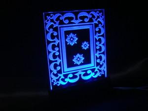 LEDアクリルプレート(DC12V用、スタンドのみ)