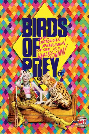 ハーレイ・クインの華麗なる覚醒 BIRDS OF PREY ハイエナ  輸入ポスター 61cm x 91.5cm POP34591