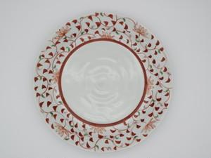 九谷フェスティバル 唐草 盛皿 2枚組
