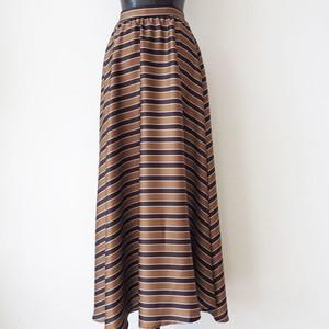 ViCOLO ストライプフレアースカート:GGZ-215 ¥17,900+tax