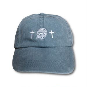 RUGBY SKULL Low Cap Dark Gray