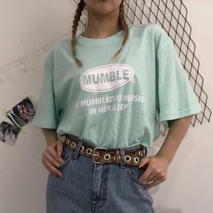【OUTLET】MUMBLE T