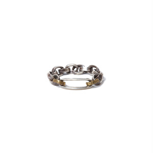 【hobo】925 SILVER CHAIN RING with BRASS