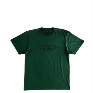 Mountain オリジナルTシャツ / STAY HEALTHY /  Forest green