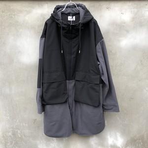 "KIIT  ""polartec fleece wind pro x p/c goose shell combination track coat"""