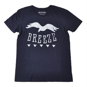 BREEZE S/S COTTON TEE [Navy]