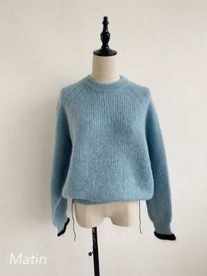 PASTEL d'Occitanie  Crew Neck Pull Over