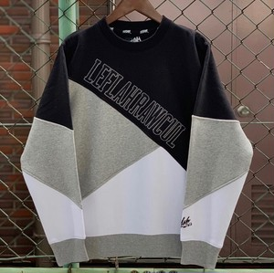 LEFLAH / レフラー | 3Color Switching Sweat - Black