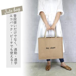 ロゴジュートバッグ(L)   /bag185a1