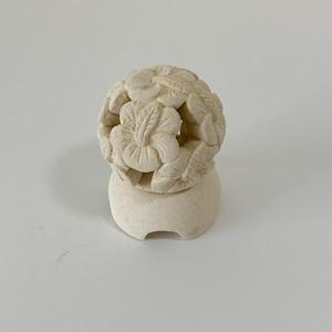 フランジパニのキャンドルホルダー(キューブ) アロマ キャンドル キャンドルスタンド