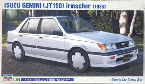 ハセガワ 1/24 HC-26 いすゞ ジェミニ(JT190) イルムシャー