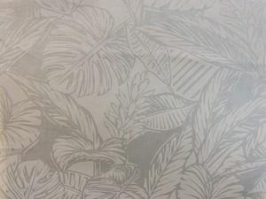 HFCハワイアンファブリックWHITEon WHITE コットン100%(50cmから)