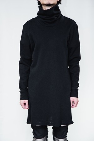 AW STANDARD Super High Neck Long Knit
