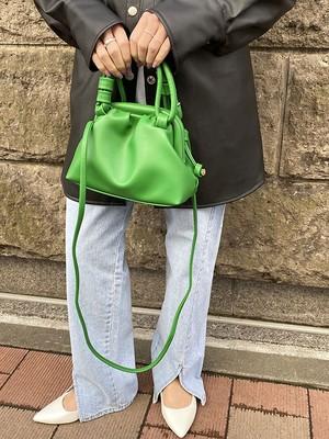 2WAYハンドルバッグ[Color:グリーン]