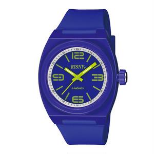 RS-001M-09 RISNY(リスニー) 楽天Edy内蔵 クオーツ 腕時計 バイオレット ホワイト ユニセックス
