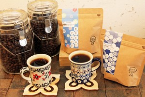 自家焙煎コーヒーおまかせ3種セット ブレンド/シングル 100g×3種類