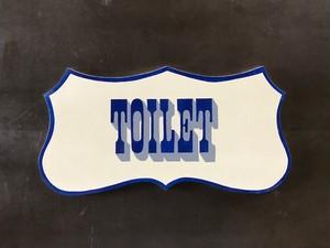 """Signpaint """"TOILET"""""""