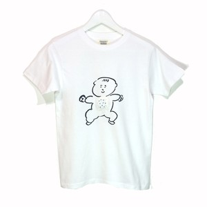 futatsukukuri x chiechihiro collaboration T-shirt 「baby」ネイビー
