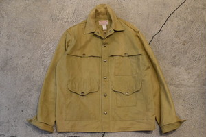 USED FILSON Tin Cloth Cotton Jacket 40 0873