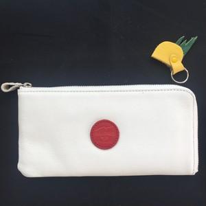 CHAMETSUKE 日の丸弁当の長財布