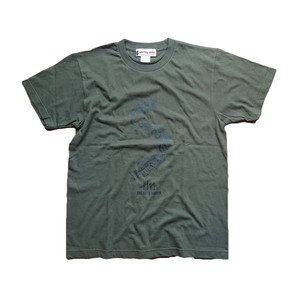 新商品!!FISH T SHIRTS BW-710 KHAKI