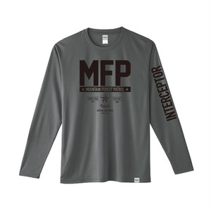 Dry Long Sleeve T-Shirt / MFP / Dark Gray