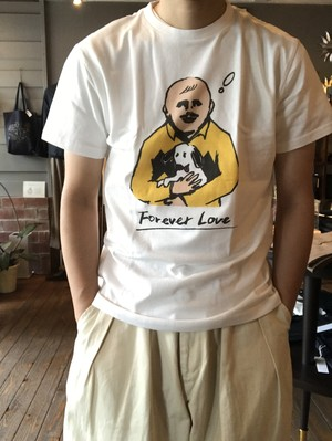 再入荷!!Forever LoveTシャツ(YUKI HORIMOTO)