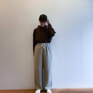 C-30429 Linen Wool Straight Pants