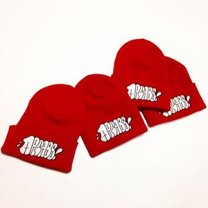 "ESPY ""THROW UP"" KNIT CAP(RED)"