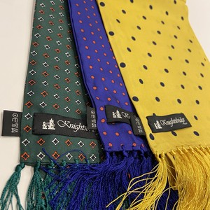 【Knightsbridge】Silk scarves (dot)