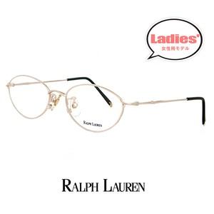 レディース ラルフローレン rl712-cb 49mm Sサイズ メガネ 女性用 小さめ 眼鏡 ralph lauren 軽量 メタル オーバル