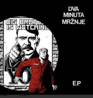 "DVA MINUTA MRŽNE - s/t 7"""