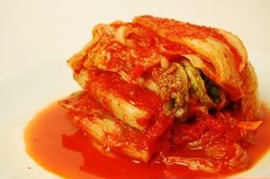 オモニが丹精込めて作る当店自慢の白菜キムチ 食べやすい刻み 200g