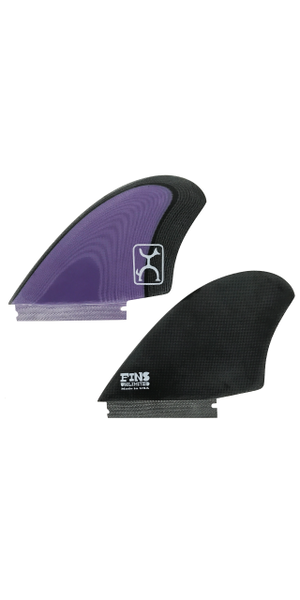 Rob Machado KEEL FIN 【BLACK×PURPLE】