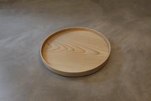 円居という名の木の器 φ240皿 栓