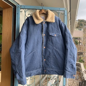 "H.UNIT ""Corduroy dolman work jacket"""