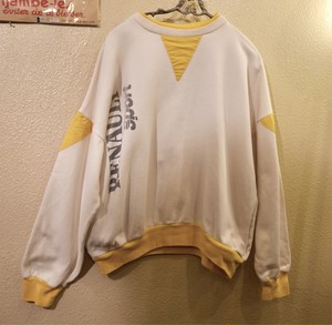 "French ""RENAULT"" Sweat Tops"
