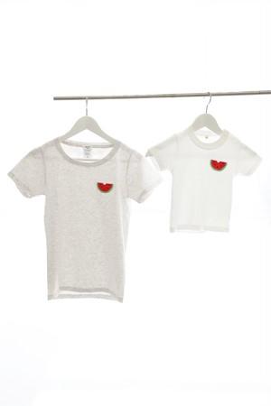 スイカ刺繍Tシャツ
