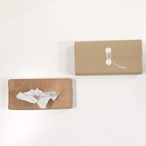 irose 【イロセ】 PLYWOOD TISSUE BOX CASE